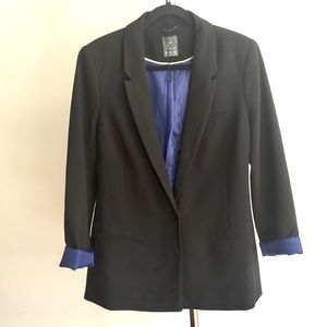 Atmosphere Black Single Button Blazer